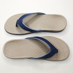 [VIONIC] Tide Perf Leather Thong Sandals